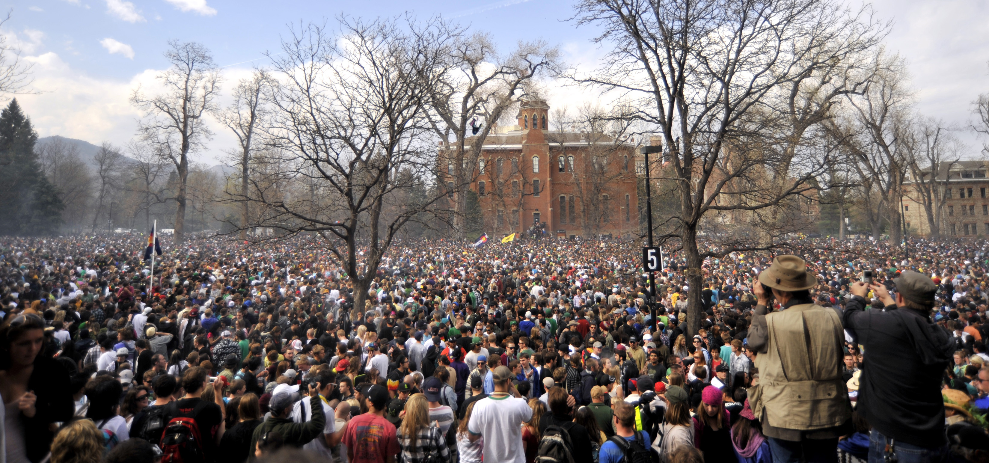 The alleged 'political' purpose of 4/20 at CU-Boulder is down to seeds and stems at this point.
